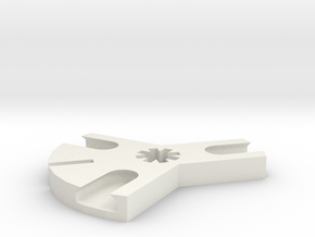 Iceblock Stick Joiner (3 way) in White Natural Versatile Plastic