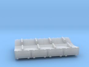 PRR 3 ton Ice Bunker/Sump (1/160) in Smooth Fine Detail Plastic