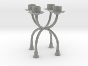 Candlestick functional4 (Ø21-22mm)/Kandelaar in Metallic Plastic