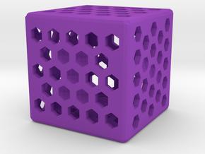Dice114 in Purple Processed Versatile Plastic