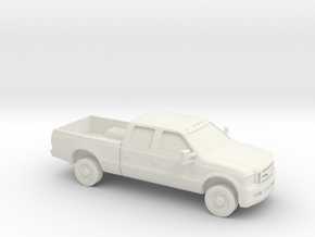 1/87 2005 Ford F 350 Crew Cab in White Strong & Flexible