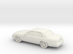 1/87 2003 Mercury Marauder in White Natural Versatile Plastic