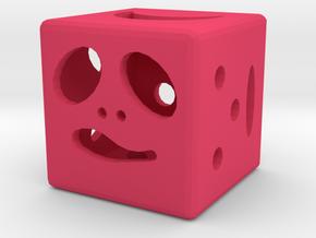 Dice116 in Pink Processed Versatile Plastic