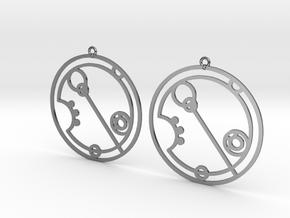 Eleanor - Earrings - Series 1 in Premium Silver