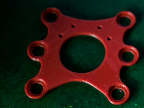 Feiyu Tech Phantom 2 Gimbal mounting plate in Red Processed Versatile Plastic