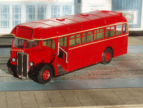 1:43 London Transport T Class (T719-768) Bus in White Strong & Flexible