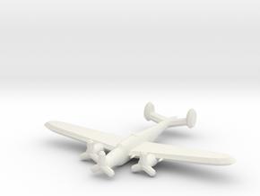 CANT Z.1007 Series IV-IX Alcione 1/900 in White Natural Versatile Plastic