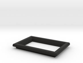 "OLED 0'96"" Beveled Frame  in Black Natural Versatile Plastic"