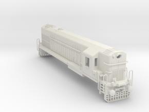 1/75 WDM2 INDIAN LOCOMOTIVE in White Natural Versatile Plastic