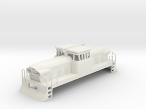 1/87 GMD GMDH-1 LOCOMOTIVE in White Natural Versatile Plastic