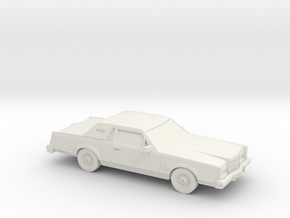 1/87 1980 Lincoln Mark VI in White Strong & Flexible