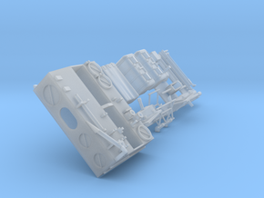 15-Detailled MESA for Apollo 11, 12 and 14 in Smooth Fine Detail Plastic
