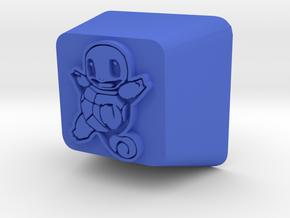 Squirtle Cherry MX R4 Keycap in Blue Processed Versatile Plastic