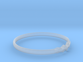 RING11BSIZER in Smooth Fine Detail Plastic