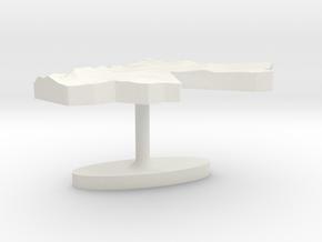 Jordan Terrain Cufflink - Flat in White Natural Versatile Plastic