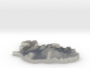 Iceland Earring in White Natural Versatile Plastic