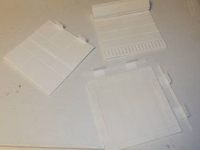 Econoliner floor-1/18 scale Action Figure display in White Natural Versatile Plastic