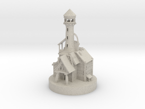 Lighthouse miniature in Natural Sandstone