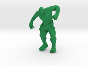 Hulking in Green Strong & Flexible Polished
