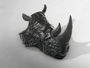 Rhino by Metal in Polished and Bronzed Black Steel
