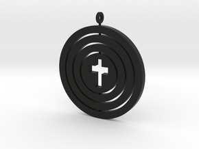 Orrery empty cross — flat in Black Strong & Flexible