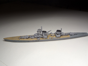 Von der Tann (Panzerschiff P) 1:1800 x2 in White Strong & Flexible