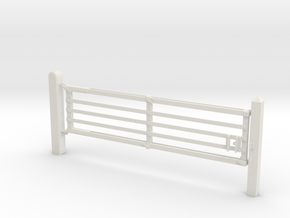 VR Yard Gates 2 Panel  in White Strong & Flexible