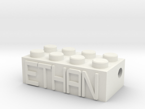 ETHAN in White Natural Versatile Plastic