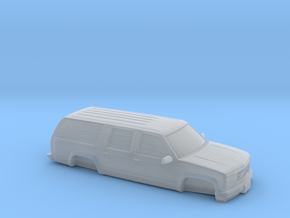 1/87 1994-99 GMC Suburban  in Smooth Fine Detail Plastic