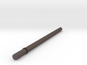 Key Handle Shaft (4 of 9) in Polished Bronzed Silver Steel