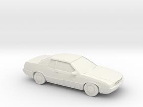 1/87 1996 Cadillac Eldorado in White Natural Versatile Plastic