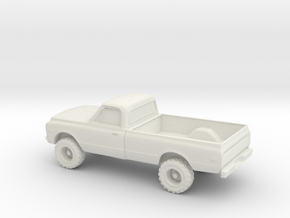 1/87 1969 GMC Sierra in White Strong & Flexible