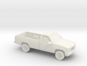 1/87 1988-98 GMC Sierra 2500 in White Natural Versatile Plastic