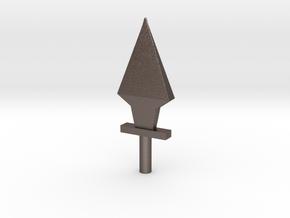 5mm Dagger in Polished Bronzed Silver Steel