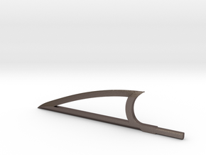 Sword Edge in Polished Bronzed Silver Steel