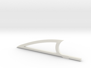 Sword Edge in White Natural Versatile Plastic