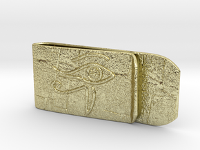 Money clip(Egypt) in 18k Gold