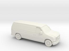 1/87 2008 Ford Econoline in White Natural Versatile Plastic