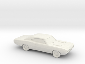 1/87 1970 Dodge Super Bee  in White Strong & Flexible