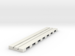 P-65stp-straight-long-110-100-pl-1a in White Natural Versatile Plastic