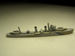 HMS Electra (E/F class) 1/1800 in White Natural Versatile Plastic