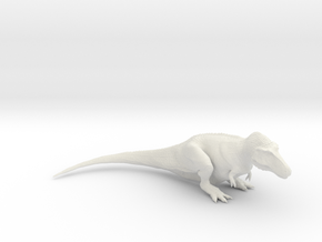 Resting Tyrannosaurus rex - 1/40 in White Strong & Flexible