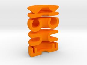 NAUGHTY-FORM ;) in Orange Processed Versatile Plastic