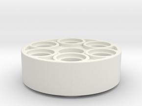 Servohorn 25z in White Natural Versatile Plastic
