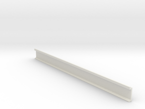 N Scale Platform Wall / perronwand 120mm in White Natural Versatile Plastic