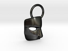 Phantom mask in Matte Black Steel