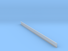 H0 Platform wall / perronwand 1:87 200mm in Smooth Fine Detail Plastic