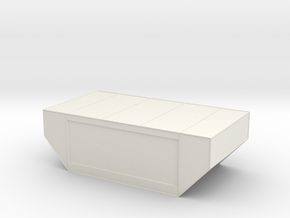 LD-29 Air Cargo Container 1:144 in White Natural Versatile Plastic