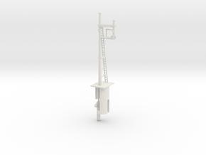 RH Inverted Bracket Signal HO NSWGR LQ in White Strong & Flexible