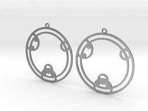 Zoey - Earrings - Series 1 in Natural Silver